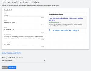 Adverteren op Google