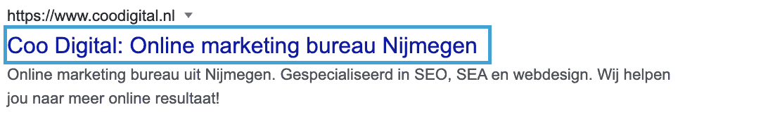 Hoog scoren in Google met on page SEO
